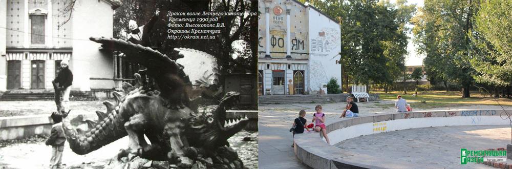 Каким был и каким стал Приднепровский парк