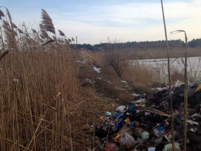 Львовский сор обнаружили рядом сочистными сооружениями Кременчугского водоканала