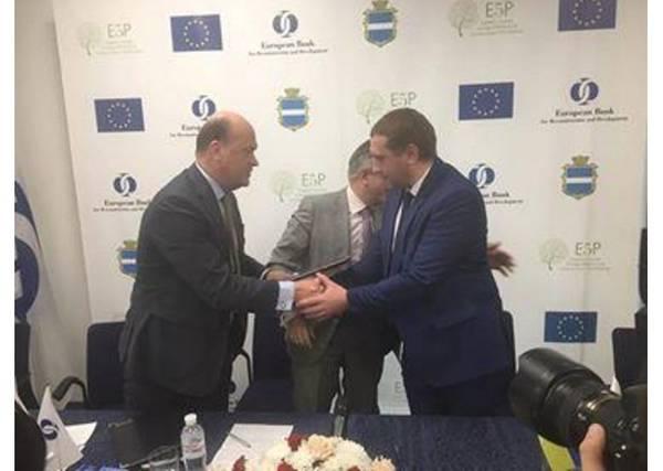 ЕБРР выделил Кременчугу назакупку новых троллейбусов €8 млн