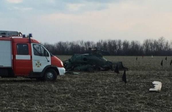 Минобороны Украины подтвердило смерть 5 военных при крушении вертолета под Краматорском