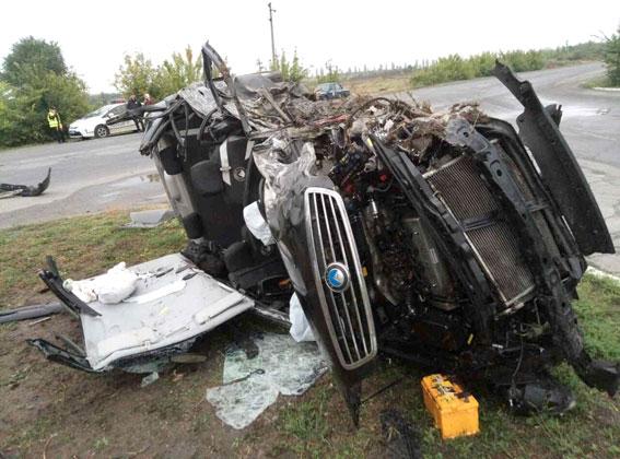 ВПолтавской области в итоге ДТП пострадало шесть человек, есть погибшая