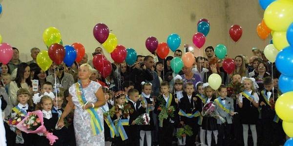 Фотоконкурс «Мой класс!»: первоклашки с шариками удивляшки