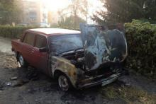 Журналисту «Громадського ТБ» сожгли машину (дополнено)