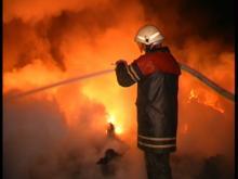 В Кривушах горел дом