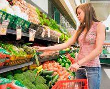 Цена на овощи в кременчугских супермаркетах ниже, чем на рынках