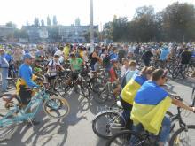 В Кременчуге подсчитали точное количество участников велопарада