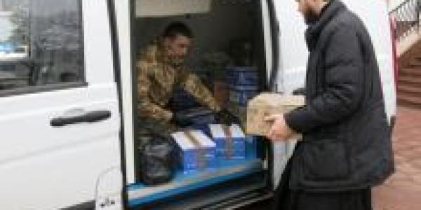 Полтавская епархия УПЦ передала лекарства для бойцов, пострадавших в зоне АТО