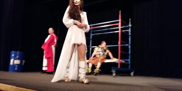 Состоялся первый спектакль «Театральной весны» В Кременчуге.