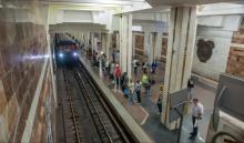 Харьков получил поезд метро, созданный на КВСЗ