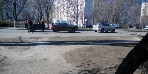 ДТП на Киевской в Кременчуге