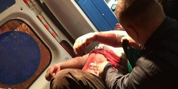 После погромов в Полтаве АТОшники прооперированы, побитые кременчугские охранники пошли по больницам