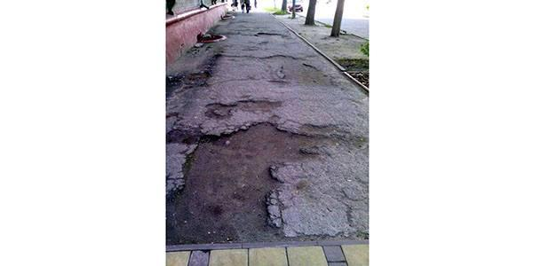 Тротуары как маркер отношения мэра Малецкого к кременчужанам-2