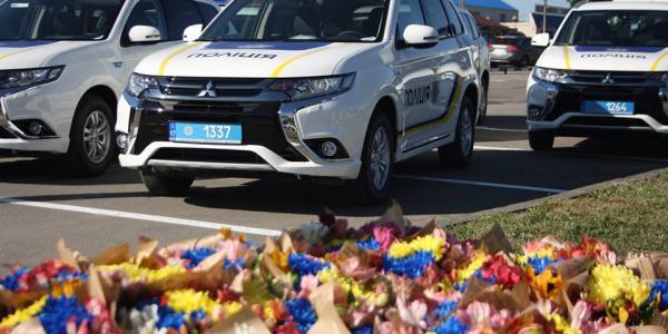 Поліцейські Полтавщини кататимуться на новеньких електрокарах