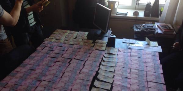 На Полтавщині чиновник пропонував хабар у 270 тисяч гривень очільнику  управління протидії наркозлочинності