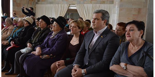 Депутати привітали ветеранську організацію мікрорайону №2 міста Кременчука з ювілеєм
