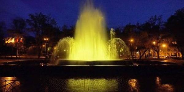 Главный кременчугский фонтан в сквере Бабаева скоро расконсервируют