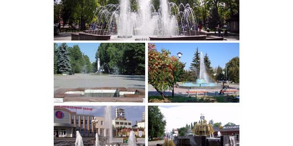 Кременчуг открыл сезон фонтанов