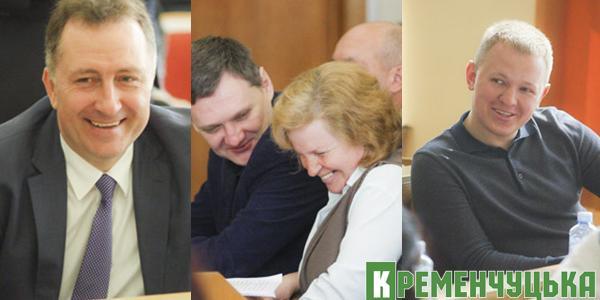 Депутаты Кременчугского горсовета блистали весенним настроением