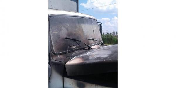 Машина почала горіти під час руху в районі Чередничків.