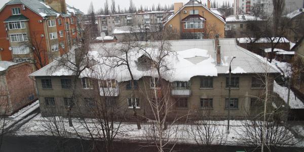 В Кременчуге обнаружены снежные лавины