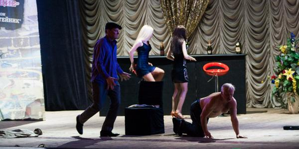 Кременчужанам показали кастинг в мужской стриптиз