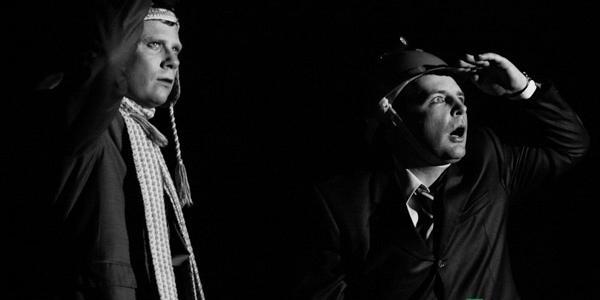 «Слушай когда театр МО с тобой разговаривает!» - в Кременчуге давали спектакль «Альпинисты»