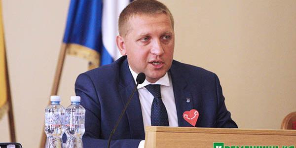 Малецкий громогласно заявил, что этот год в Кременчуге будет «годом дорог»