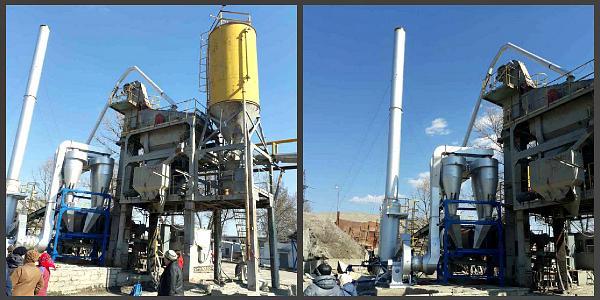 Жители Реевки считают, что асфальтный завод их травит, несмотря новые фильтры