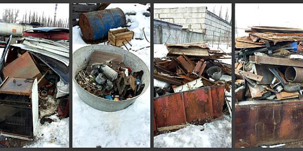 В Кременчуге участковые полицейские «накрыли» незаконный пункт приема металла