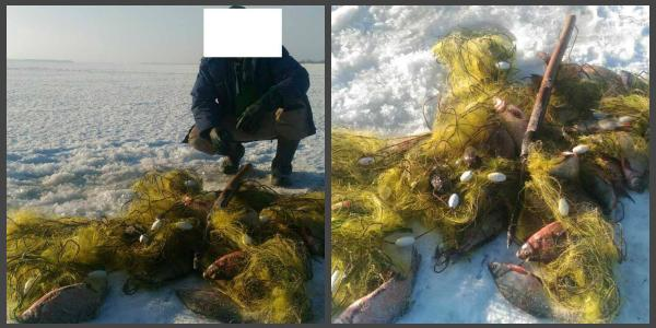 Кременчугской водной полиции попался браконьер с 43 кг рыбы