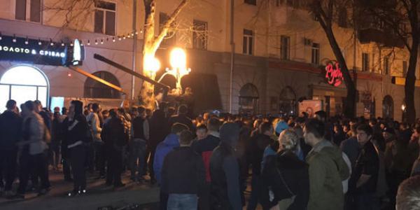 Кременчужане замешаны в массовых уличных столкновениях в Полтаве