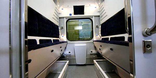 Второй поезд с вагонами-трансформерами Крюковского вагонзавода выйдет на маршрут