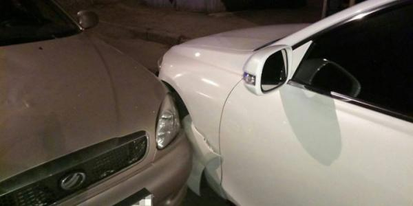 В Кременчуге пьяный на Daewoo врезался в Lexus