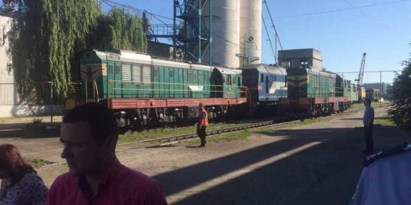 У локомотивному депо «Кременчук» знову італійський страйк