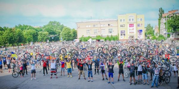 27 травня Велодень в Кременчуці відзначать традиційним велопарадом за зміненим маршрутом