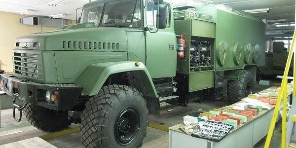 На базі КрАЗу вперше в Україні створені вітчизняні командно-штабні машини