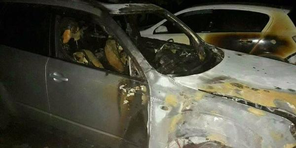 В Крюкове горел Subaru Forester