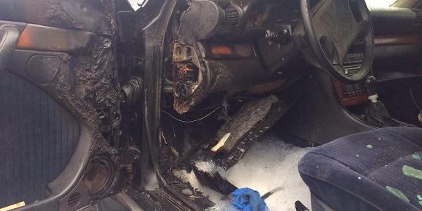 В Кременчуці горіла ще одна Audi