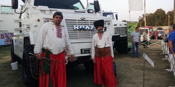КрАЗ стал «фишкой» Сорочинской ярмарки