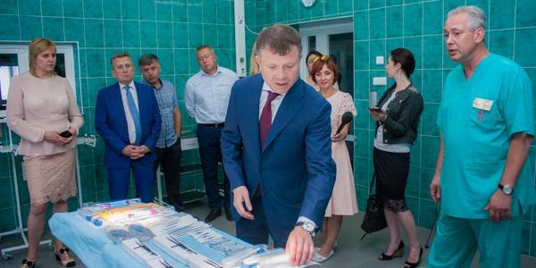 З 2011 року для диспансеру за підтримки Костянтина Жеваго було виділено більше 1 млн 845 тис. грн.