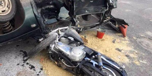 Кременчужанина на Harley-Davidson збив некерований легковик