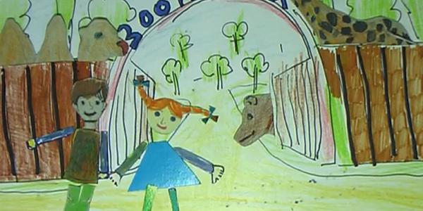 7-річний кременчжанин із 8-річною помічницею створили анімаційний серіал