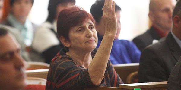 Е-декларация депутата-активистки Гордеевой: пенсия в 1,2 тыс. грн. и Renault Kangoo за 80 тыс. грн.