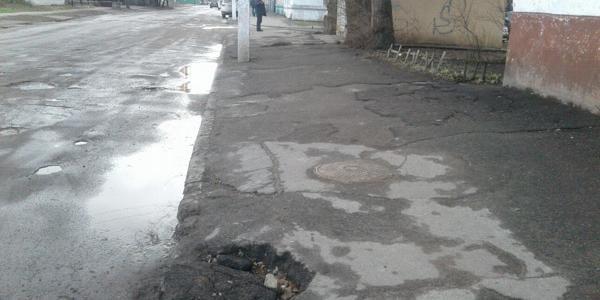 Кременчужане: «По улице Горького «горько» ходить».