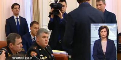 На заседании Кабмина задержали руководителей Госслужбы по ЧС - видео