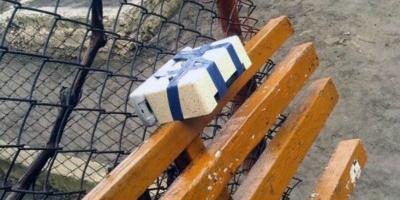 На станции Щербаки обнаружен муляж взрывчатки