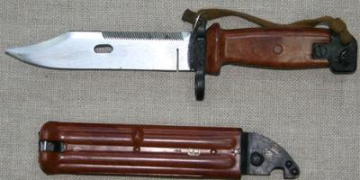У кременчужанина изъяли штык-нож от автомата
