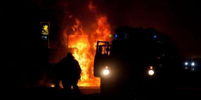 Под Полтавой перевернулся грузовик с нефтепродуктами (обновлено)