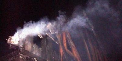 В Сорочинцах сгорела часть объектов Сорочинской ярмарки