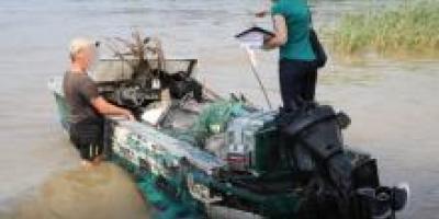 На Кременчугском водохранилище браконьеры наловили рыбы на 150 тыс. грн.